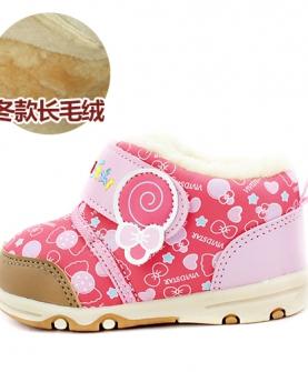 婴儿加绒鞋子