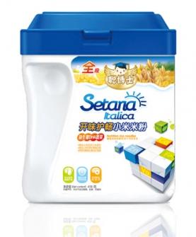 开味护畅益生菌DHA蔬菜小米米粉全段