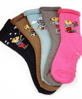 儿童袜子点胶防滑