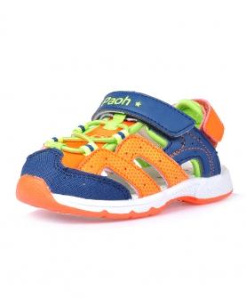 软底防滑童鞋婴儿步前包头凉鞋