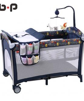 欧式便携游戏床儿童床