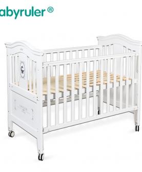 babyruler婴儿床实木欧式游戏床