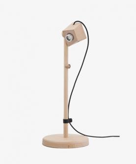 现代简约实木质台灯