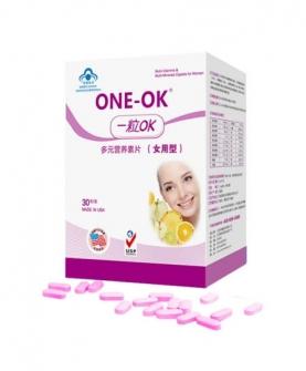 ONE-OK多元营养素片(女用型)