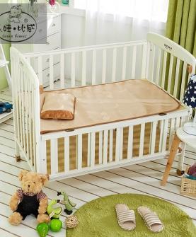 婴儿床冰丝凉席
