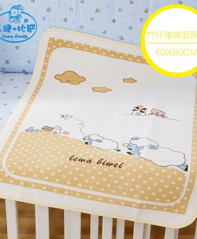 婴儿竹纤维网格隔尿垫