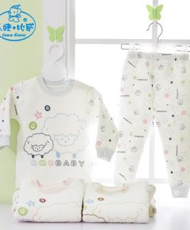 婴幼儿内衣套装纯棉
