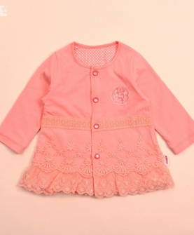 女宝宝长袖衬衣