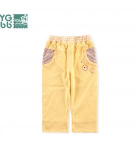 休闲裤双层纯棉裤子