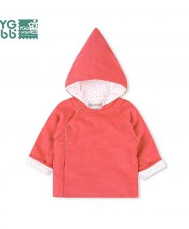 婴幼儿薄棉衣外出服