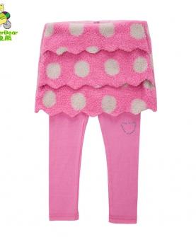 纯棉短裙长裤两件套