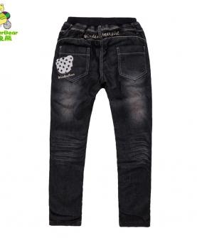 弹力牛仔裤