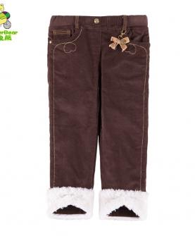 儿童冬装休闲裤