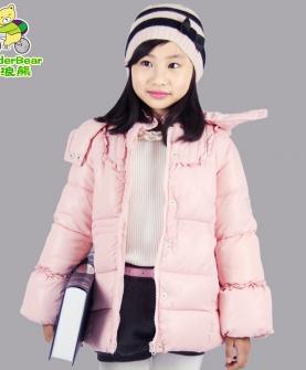 女童加厚棉衣外套