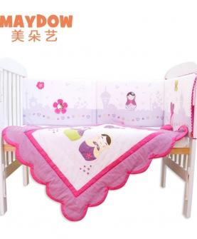 安全防撞可爱玩具床帏