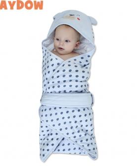 纯棉婴幼儿童抱被