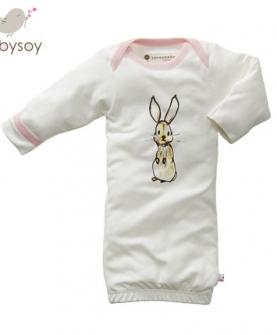 大豆纤维棉婴儿连体衣