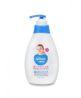 婴儿洗发沐浴露
