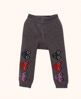 纯棉加绒双层保暖打底裤