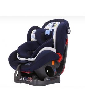 有机棉天空蓝安全座椅