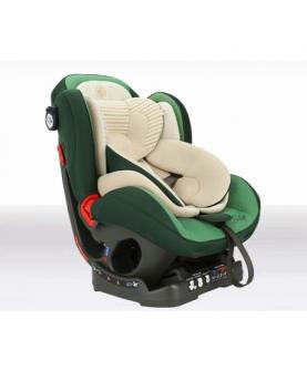 有机棉翡翠绿安全座椅