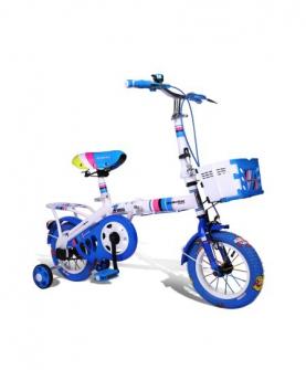 儿童折叠自行车
