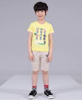 男童纯棉T恤