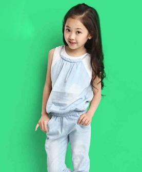女童时尚套装