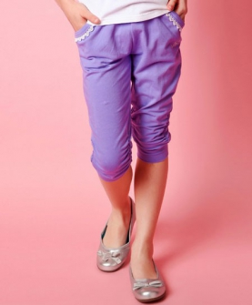 女童七分裤