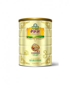 双益系列配方奶粉 800g 2段
