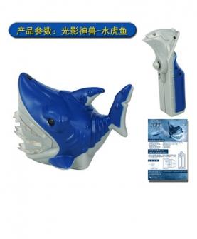 光影神兽小鲨鱼