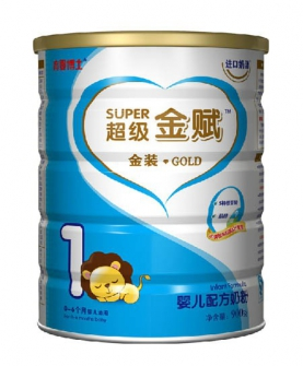 金装配方奶粉