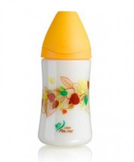 宽口径时尚PP奶瓶