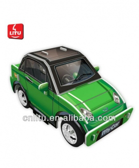 3D车模型拼图玩具