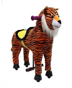 老虎骑乘玩偶