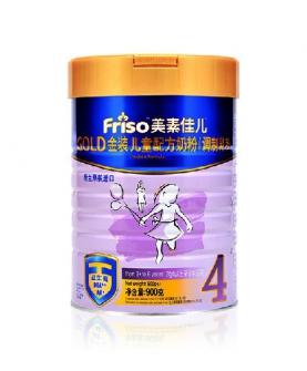 金装儿童配方奶粉4段