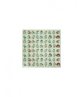 九珠珠心算专用贴贴纸