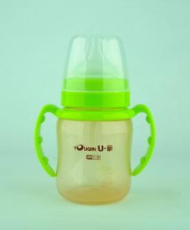 A328宽口PP抗菌奶瓶180ml