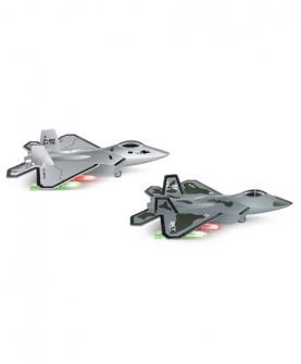 回力合金F22战斗机航模