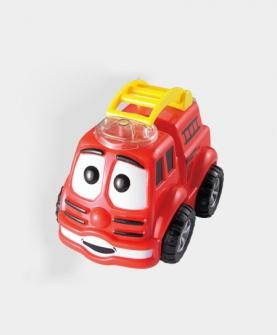 电动万向反斗卡通消防车