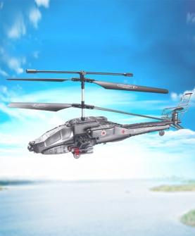 3.5通摇控阿帕奇军事战斗机