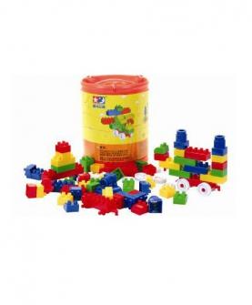 桶装积木 益智玩具