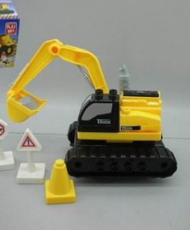 滑行积木挖掘机