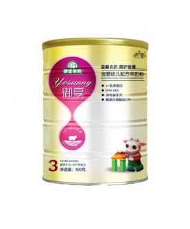 金盾幼儿配方羊奶粉3段