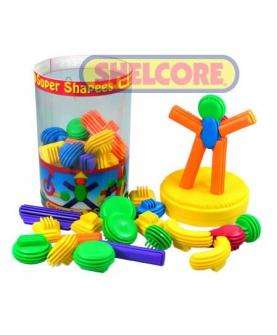 百变拼插乐益智玩具