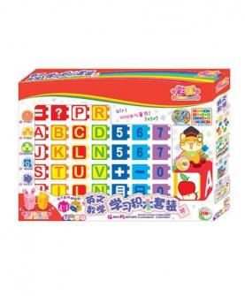 英文数学学习积木益智玩具