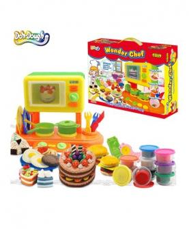 小厨神彩泥益智玩具