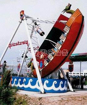 海盗船游乐设施