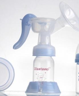 带奶瓶高级手动吸奶器套装 吸乳器 挤奶器