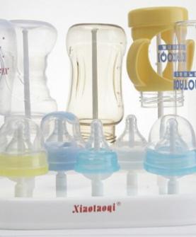 多功能抗菌晾瓶架 纳米抗菌晾奶瓶架